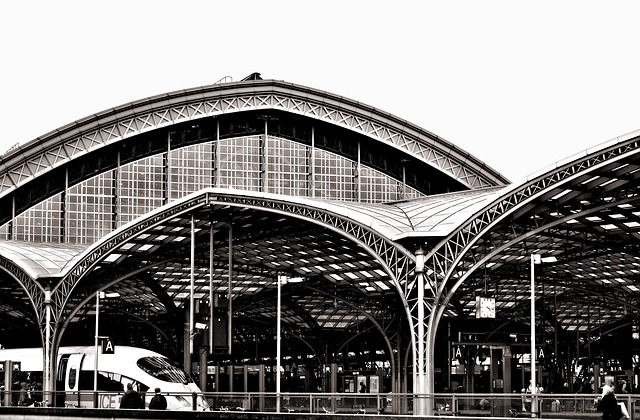 Railway Station, Cologne, Central Station, Station Roof