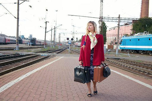 The Transportation System, Train, Cars, Perron, Station