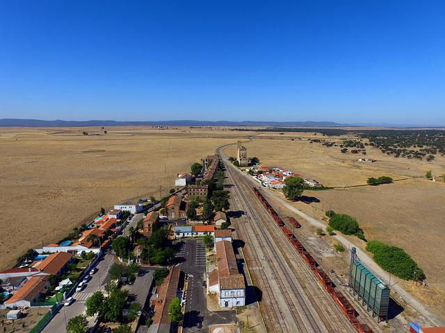 Station, Train, Railway, Via, Train Station