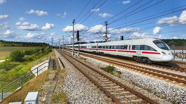 Transport System, Train, Station, Railway Line