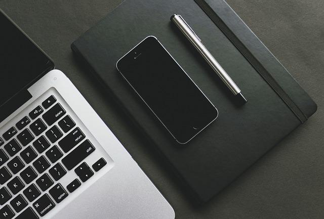 Pen, Notebook, Notepad, Diary, Stationery, Desk, Laptop