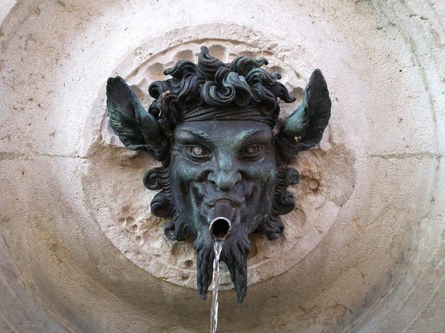 Sculpture, Art, Fontana, Ancient, Statue, Cinnamon