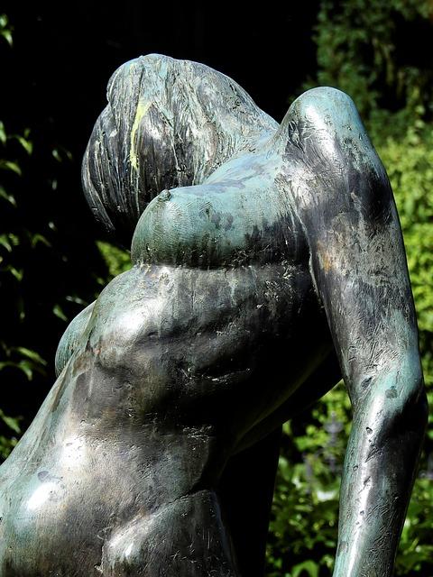 Statue, Art, Sculpture, Fig, Woman, Artwork, Metal