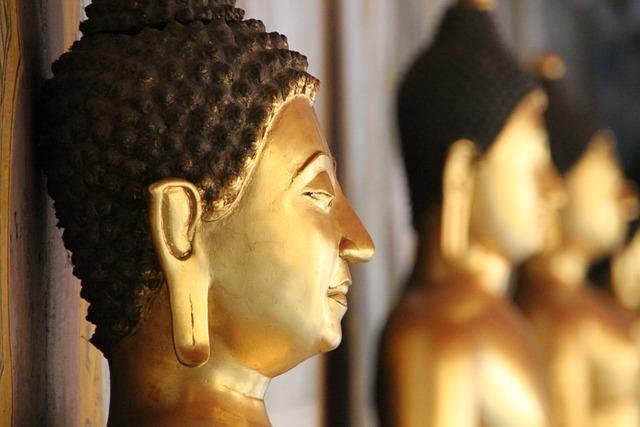 Thailand, Buddha, Statue, Buddhist, Temple, Asia