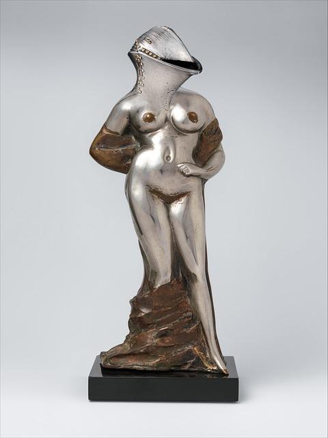 Composing, Statue, Figure, Surreal, Art, Culture