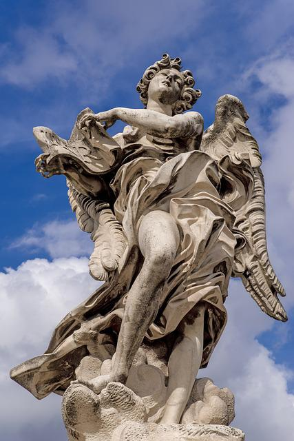 Statue, Sculpture, Angel, Religion, Religious, Culture
