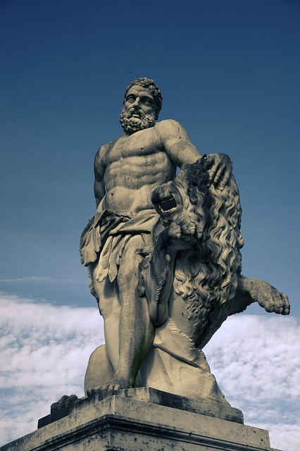 Hercules, Statue, Greek Ancient, God