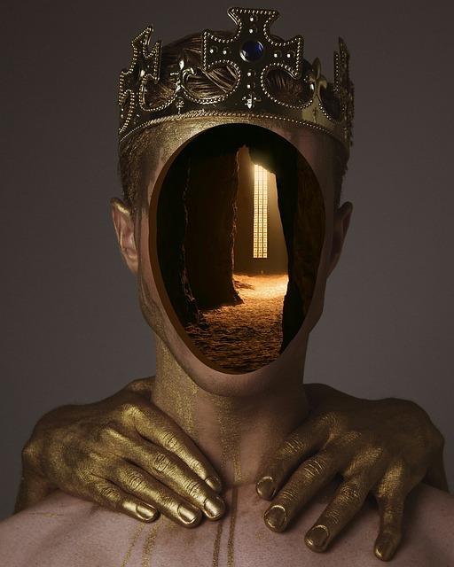 Sculpture, Statue, Meditation, Golden, Guy, Crown