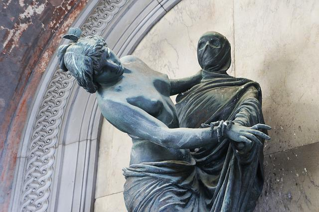 Death, Statue, Cemetery, Sculpture, Stone, Grave