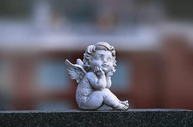 Angel, Statue, Sadness, Memory