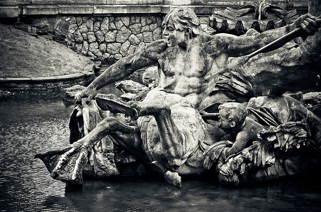 Statue, Fountain, Fig, Sculpture, Old, Monument