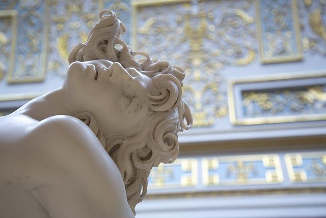 Statue, Museum, St Petersburg, Sculpture, History