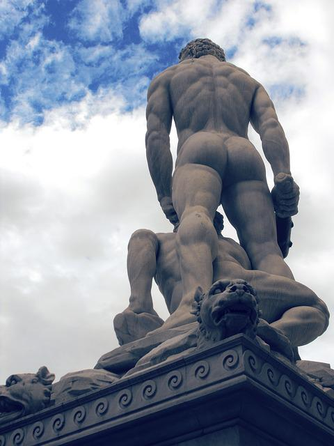 Florence, David, Statue Of Florence, Monument, Tuscany