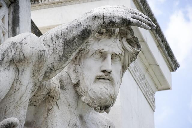 Sculpture, Statue, Art, People, Old, Rome