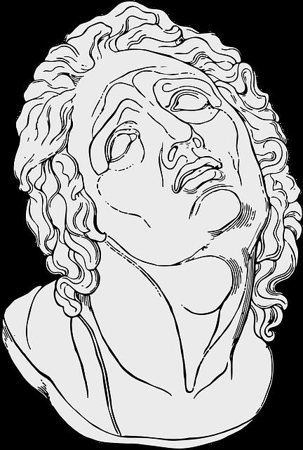 Statue, Greek, Bust, Face, Pain, Sculpture, Ancient