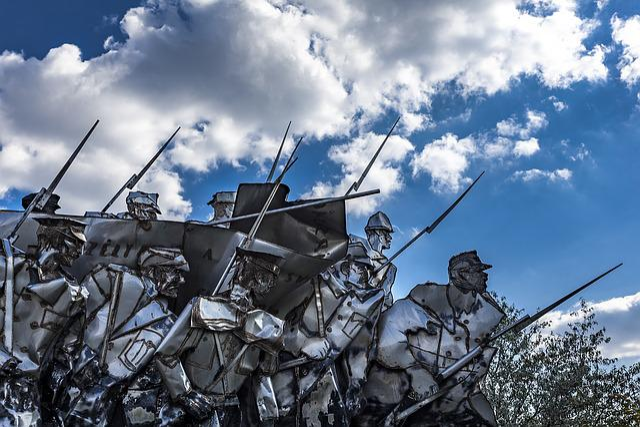 Army, Statue, Communist, Communism, Monument, Sculpture