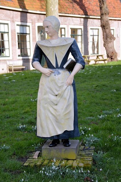 Figure, Decoration, Milkmaid, Statue, Stonework, Stone