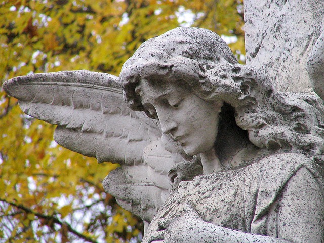 Angel, Einkehr, Stone, Nature, Statue, Sculpture