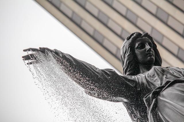 Sculpture, Statue, Winter, Travel, Woman