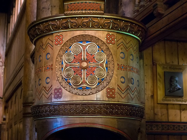 Pulpit, Church, Stave Church, Preach, Worship, Wood