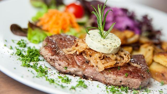 Eat, Steak, Meat, Grill, Beef, Tasty, Plate, Dine