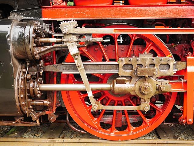 Steam Locomotive, Drive, Steam Engine, Cylinder