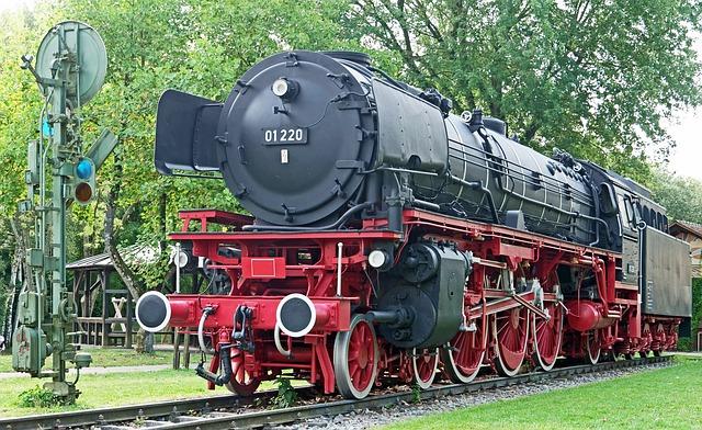 Steam Locomotive, Denkmallok, Express Train, Br01