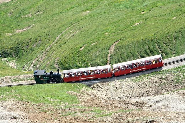 Brienz Rothornbahn, Red Horn, Steam Locomotive, Train