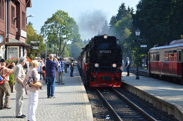 Brocken Railway, Resin, Steam Locomotive, Railway