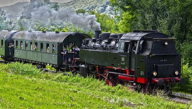 Steam Locomotive, Steam Railway, Engine, Museum Railway