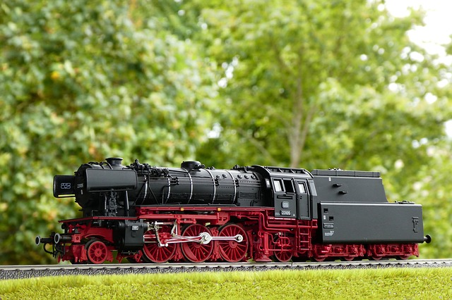 Steam Locomotive, Model, Series 23, Model Railway, Toys