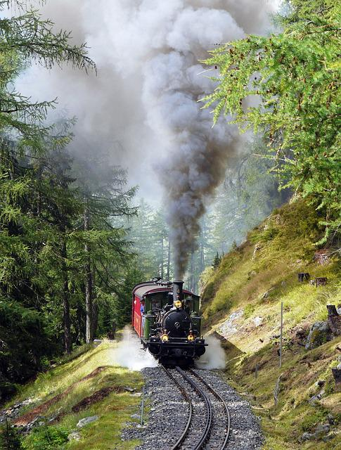 Steam Locomotive, Narrow Gauge, Rack Railway, Furka