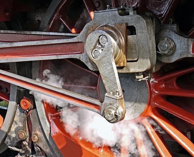 Steam Locomotive, Blowing Axis, Pivot, Personenzuglok
