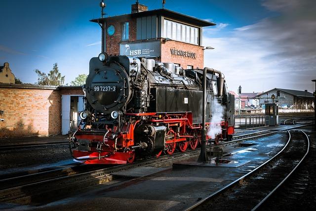 Locomotive, Loco, Steam Locomotive, Railway