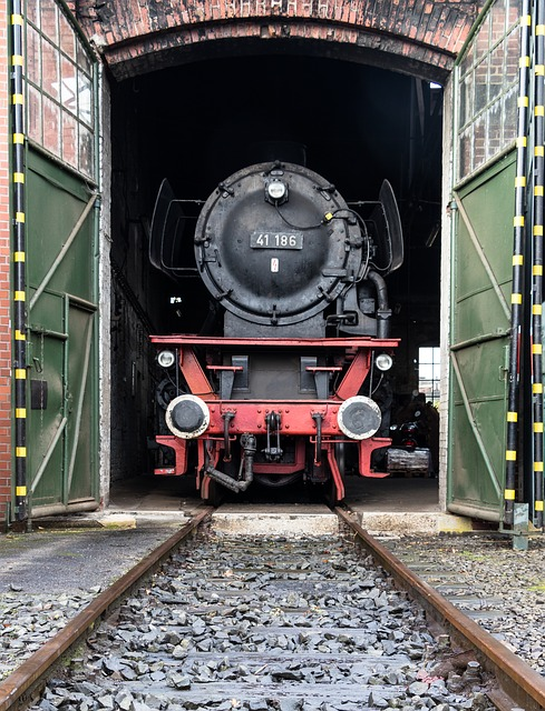 Lock, Railway, Steam Locomotive, Locomotive