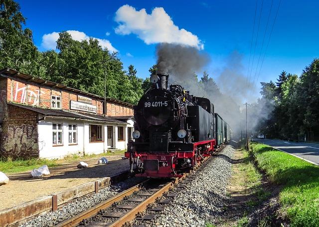 Rasender Roland, Steam Locomotive, Railway, Rügen