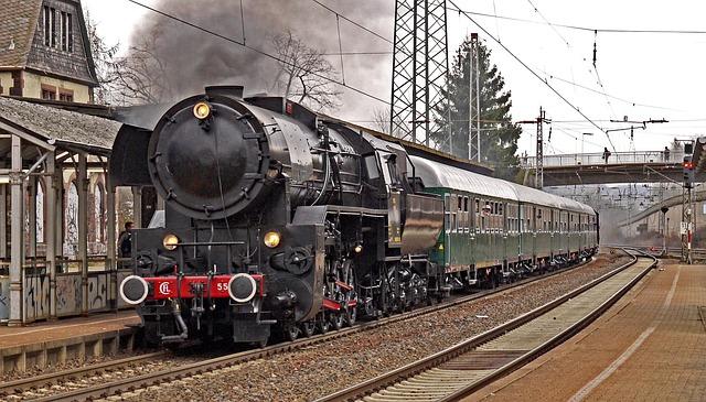 Steam Locomotive, Special Crossing, Plan Steam, Event