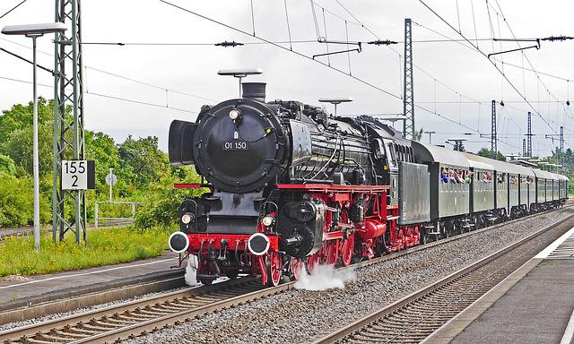 Steam Locomotive, Steam Train, Special Crossing