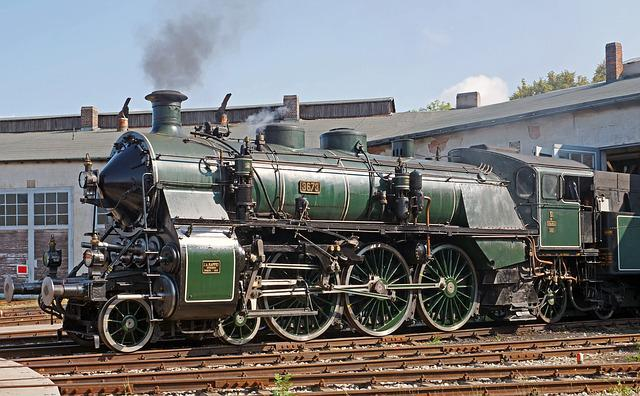 Steam Locomotive, Museum, Operational, Under Steam