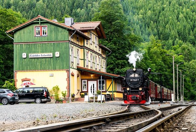 Steam Train, Steam Locomotive, Resin