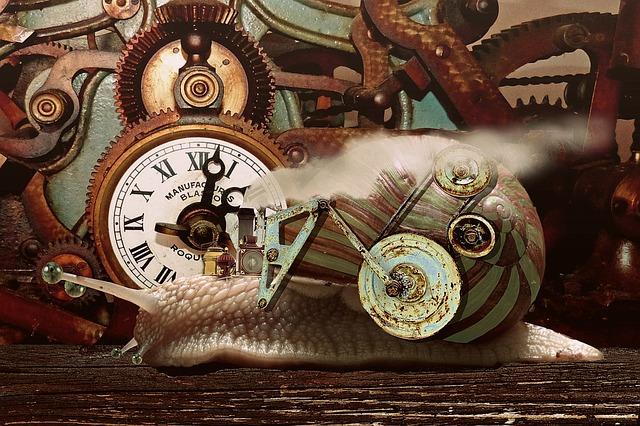 Steampunk, Fantasy, Snail, Animal, Steam, Industrial