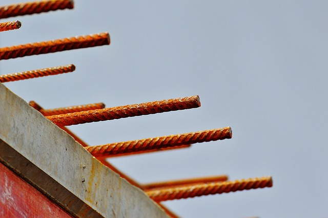 Site, Construction Material, Steel Bars, Material