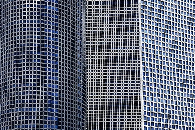 Steel, Tel Aviv, Architecture, Israel, Modern, Business