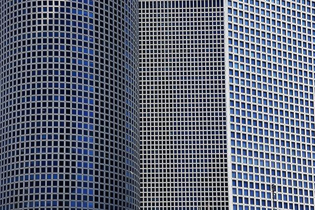Steel, Tel Aviv, Architecture, Israel, Modern, Business
