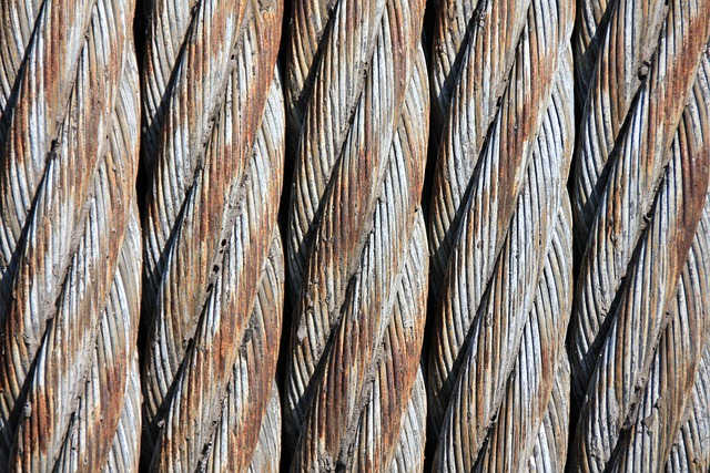 Steel Cables, Wire Mesh, Woven, Wire, Technology, Rope