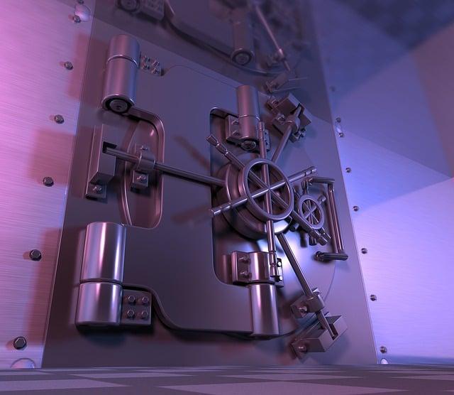 Safe, Vault, Steel Door, Banking, General Safe