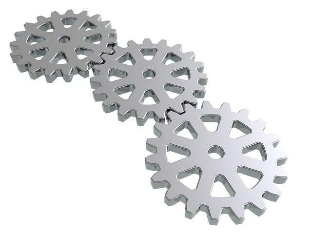 Gears, Metal, Industry, Cogwheel, Steel, Mechanism