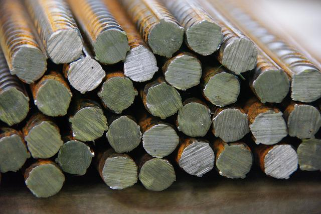 Iron, Rebar, Housebuilding, Iron Rods, Steel, Rusty