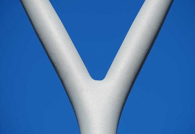Steel, Shape, Y, Lamp, Sky, Structure, Iron