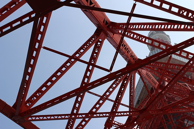 Steel, Sky, Expression, Iron, Industry, Construction